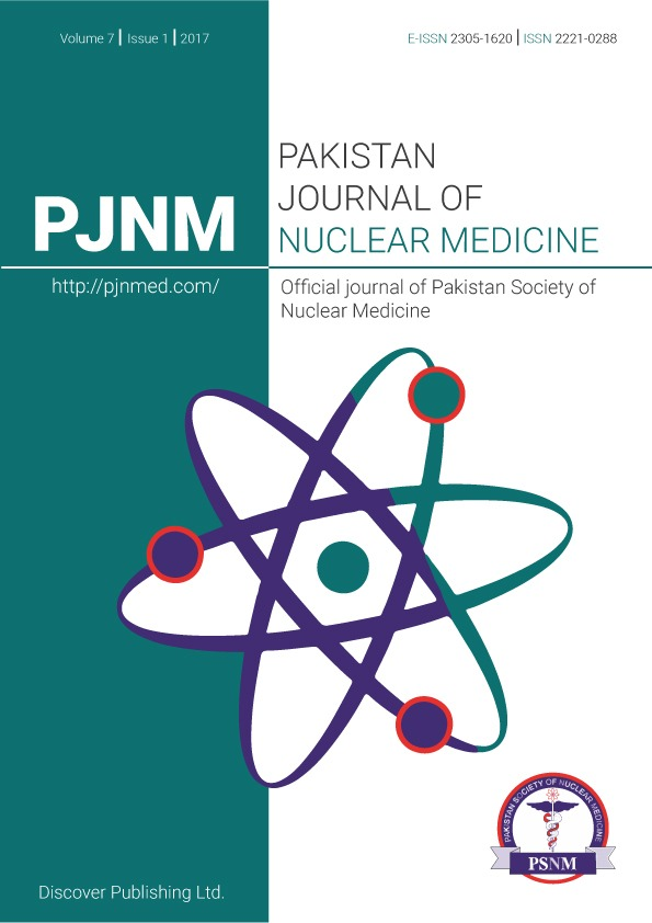 Pakistan Journal of Nuclear Medicine :: eJManager com