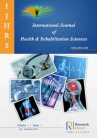 International Journal of Health and Rehabilitation Sciences