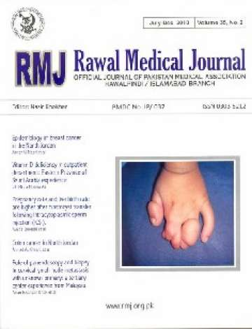 Rawal Medical Journal